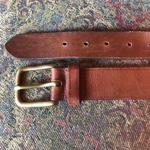 J. Crew Classic Leather Belt